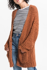 rag poets Chunky Knit Cardigan - Product Mini Image