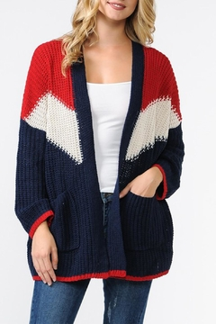 R+D Hipster Emporium  Chunky Knit Cardigan - Product List Image