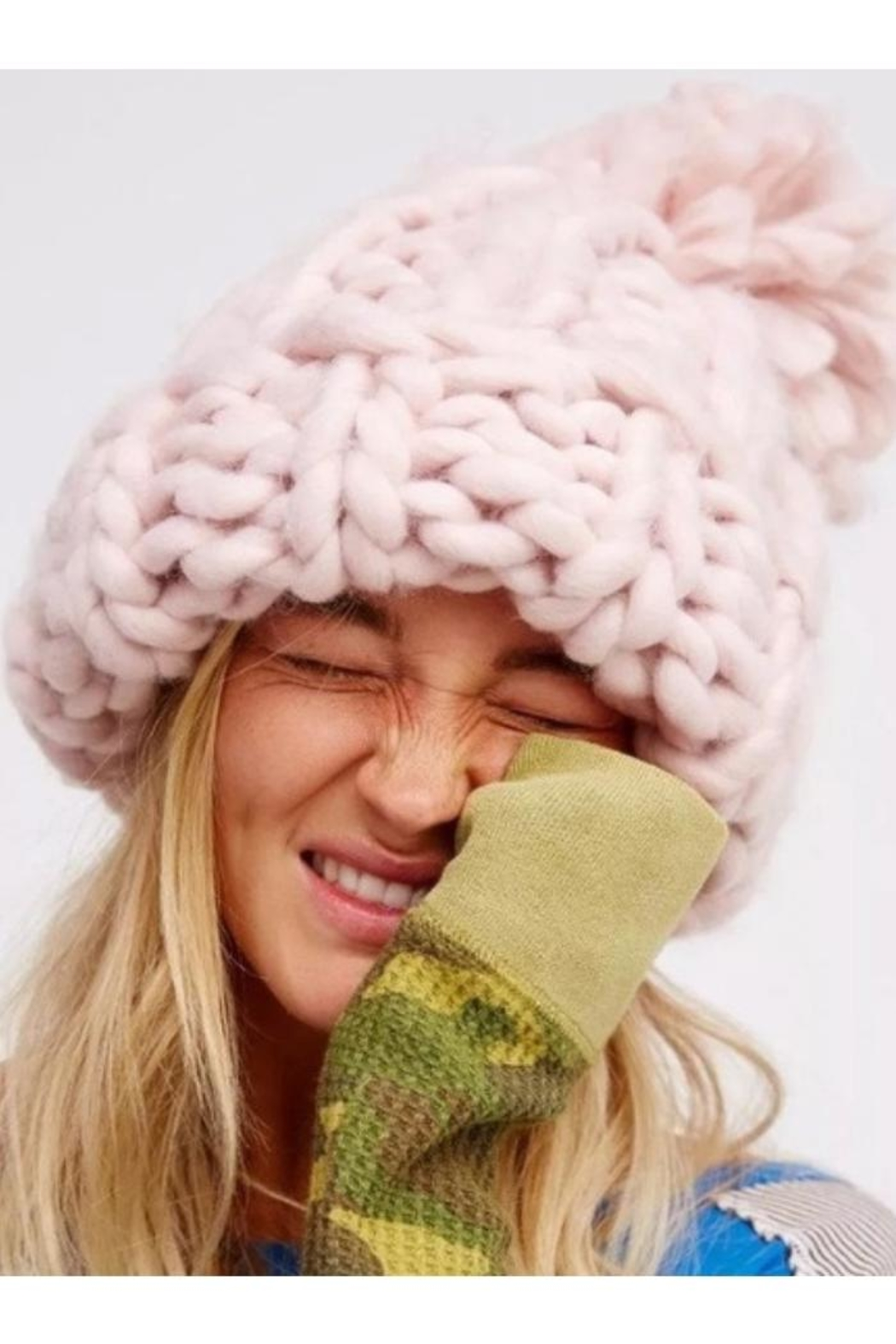 Pia Rossini Chunky Knit Hats from Wallingford by The Dressing Room ... dd5e10f3ab6b