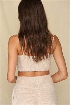 By Together  Chunky Knit Lounge Tank - Alternate List Image