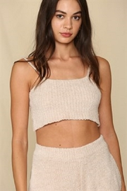 By Together  Chunky Knit Lounge Tank - Product Mini Image