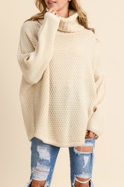 Doe & Rae Chunky Knit Pullover - Product Mini Image