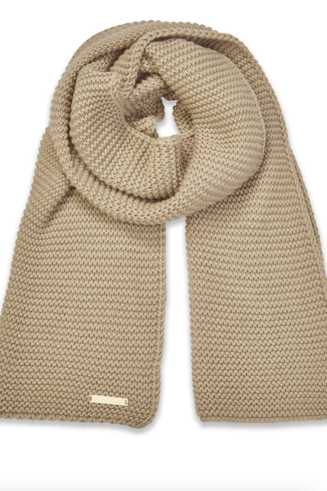 Katie Loxton Chunky Knit Scarf - Front Cropped Image