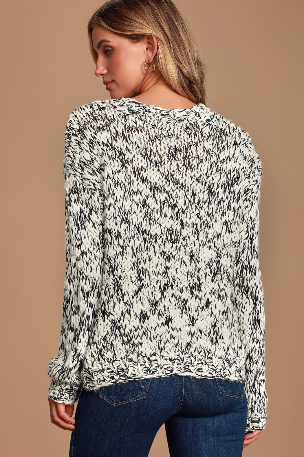 MINKPINK Chunky Knit Sweater - Side Cropped Image