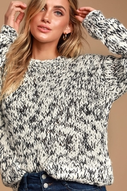 MINKPINK Chunky Knit Sweater - Front full body