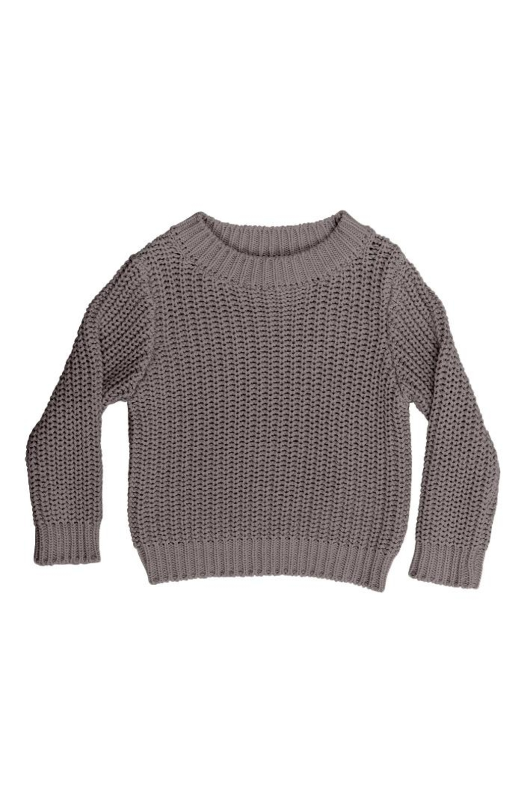 Huxbaby Chunky Knit Sweater - Front Cropped Image