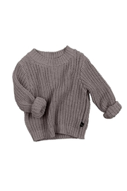 Huxbaby Chunky Knit Sweater - Front full body