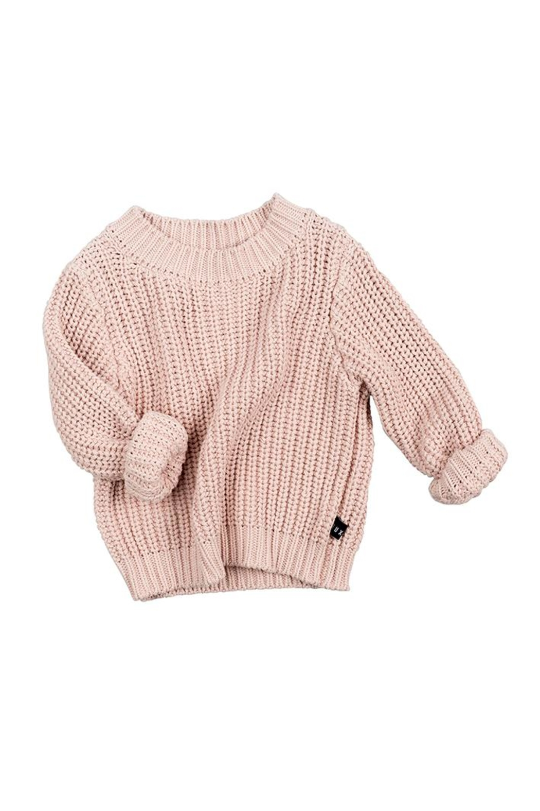 Huxbaby Chunky Knit Sweater - Front Full Image