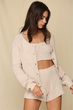 By Together  Chunky Knit Sweater Cardigan - Product List Image