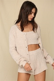 By Together  Chunky Knit Sweater Cardigan - Product Mini Image