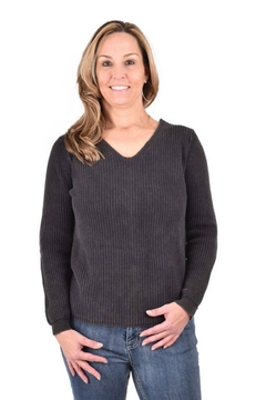 Ethyl Chunky Lace-Up Sweater - Product List Image
