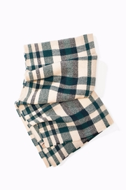 Look By M  Chunky Plaid Scarf - Front cropped