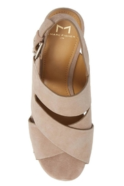 Marc Fisher Chunky Platform Wedges - Side cropped