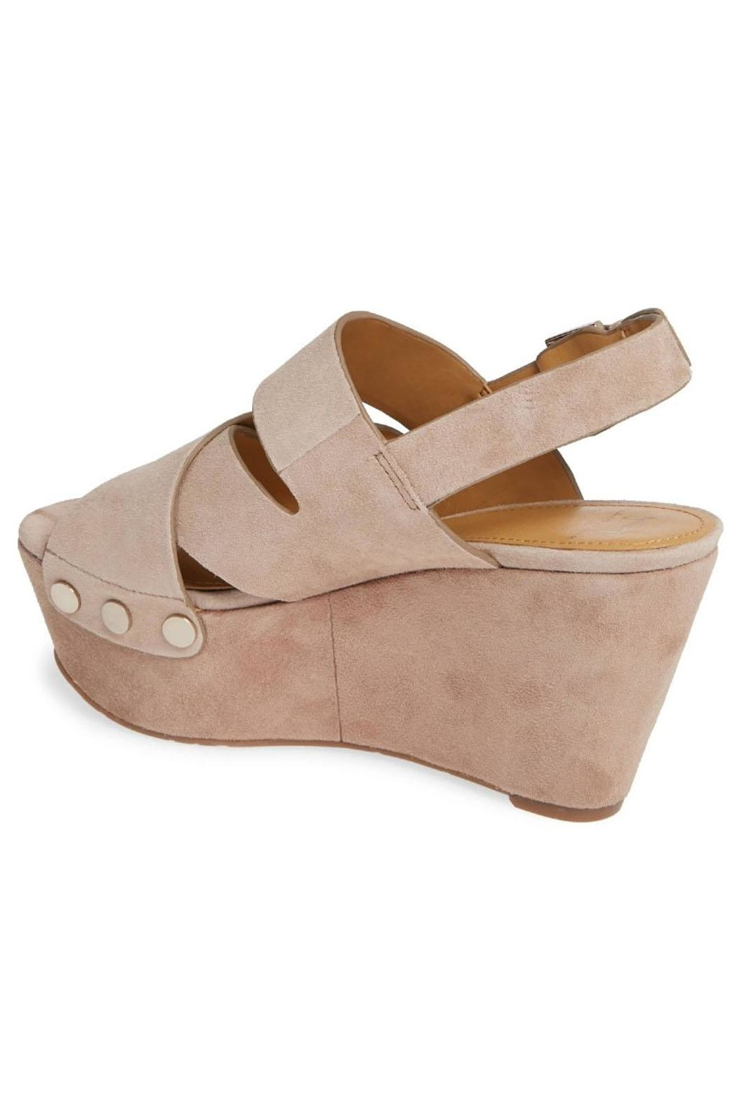 Marc Fisher Chunky Platform Wedges - Front Full Image