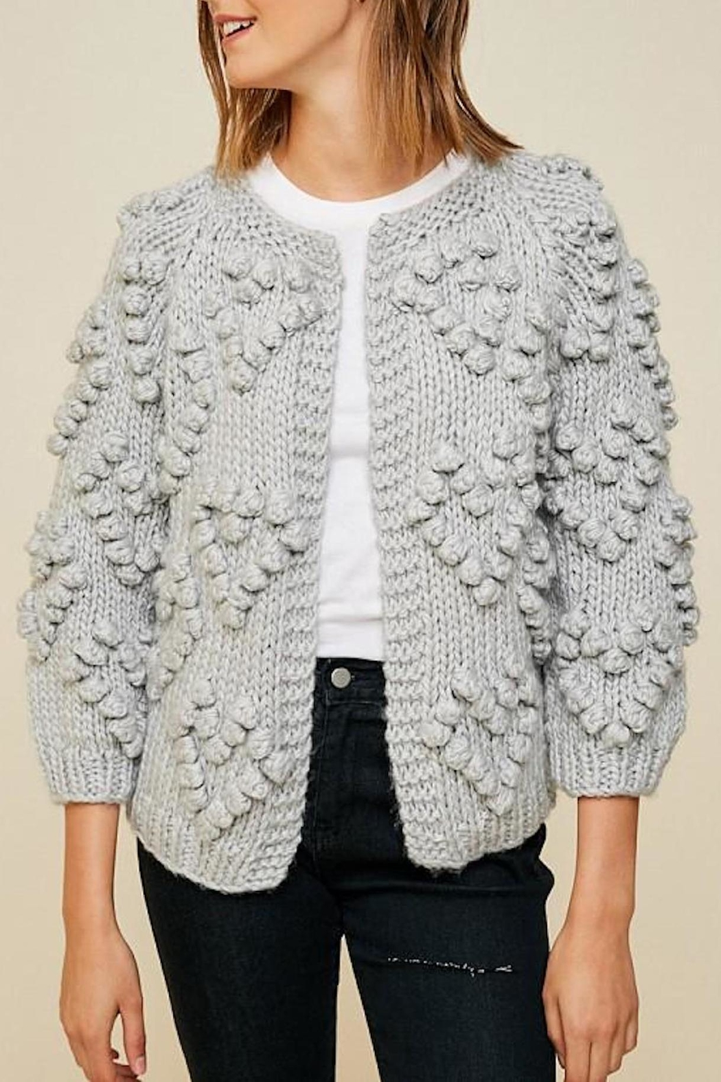e28736279 Hayden Los Angeles Chunky Pompom Sweater from New York by Lauren ...