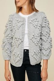 Hayden Los Angeles Chunky Pompom Sweater - Product Mini Image