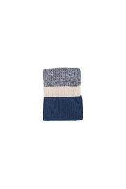 Darzzi Chunky Rib Knitted Throw - Front cropped