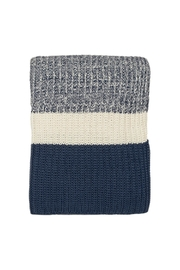 Darzzi Chunky Ribknit Throw - Front cropped