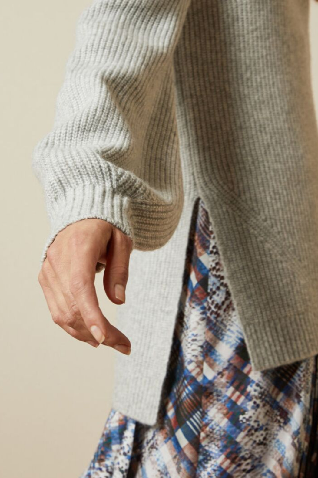 Ted Baker Chunky Roll Neck Sweater - Side Cropped Image