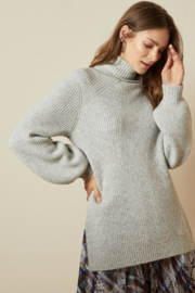 Ted Baker Chunky Roll Neck Sweater - Front full body