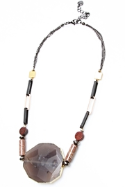 NAKAMOL CHICAGO Chunky Stone Necklace - Product Mini Image