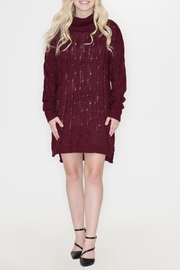 Cozy Casual Chunky Sweater Dress - Product Mini Image