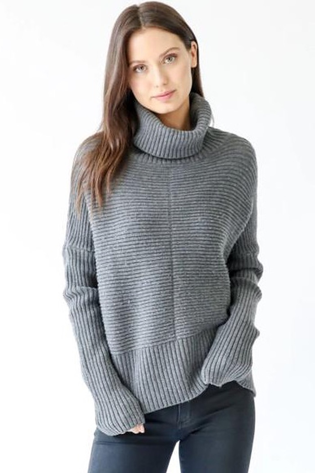 Six Fifty Chunky Turtleneck Sweater - Main Image