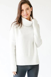 Six Fifty Chunky Turtleneck Sweater - Front cropped