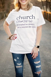 Ruby's Rubbish Church Definition Tee - Product Mini Image
