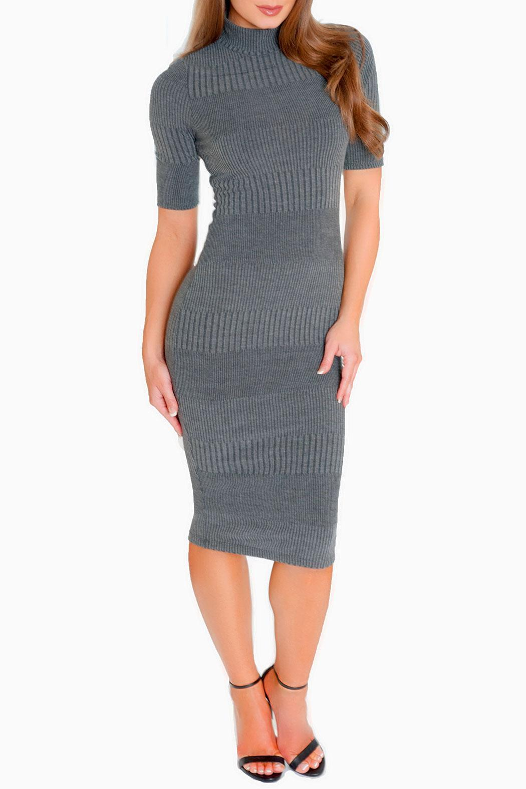 Chynna Dolls Ally Midi Dress - Front Cropped Image
