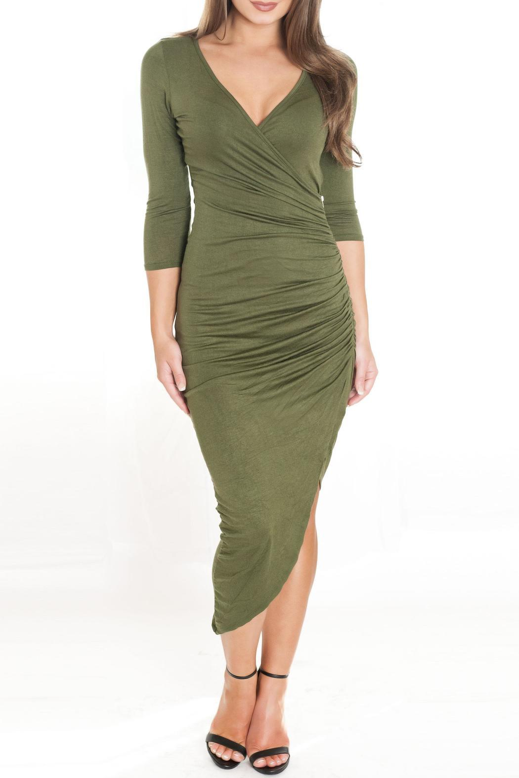 Chynna Dolls Bella Wrap Dress - Front Cropped Image
