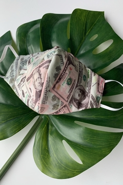 Chynna Dolls Face Mask: Reversible In Money x Sage - Product List Image