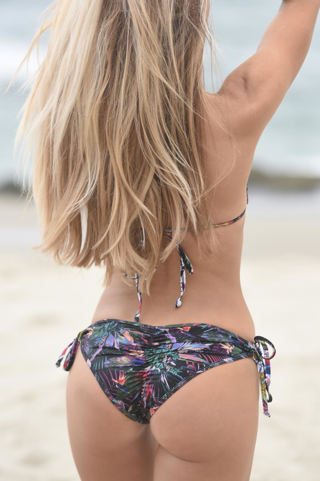 Chynna Dolls Hermosa Bottom Swimwear - Front Full Image