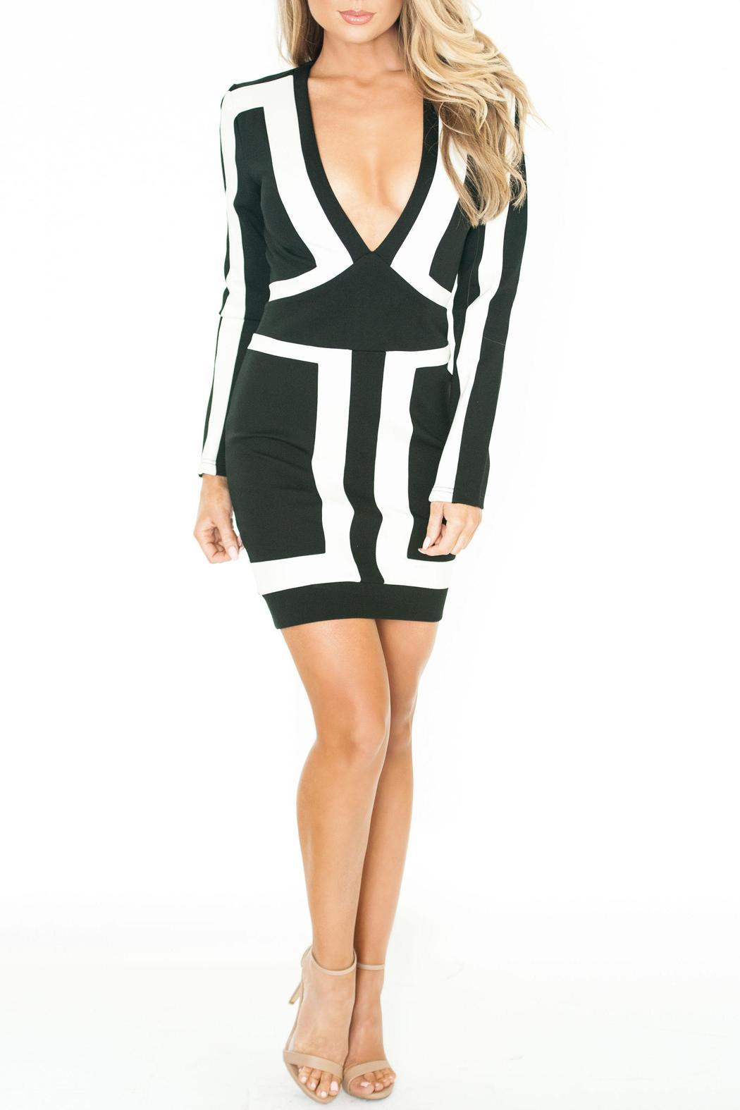 Chynna Dolls Julia Bodycon Minidress - Front Cropped Image