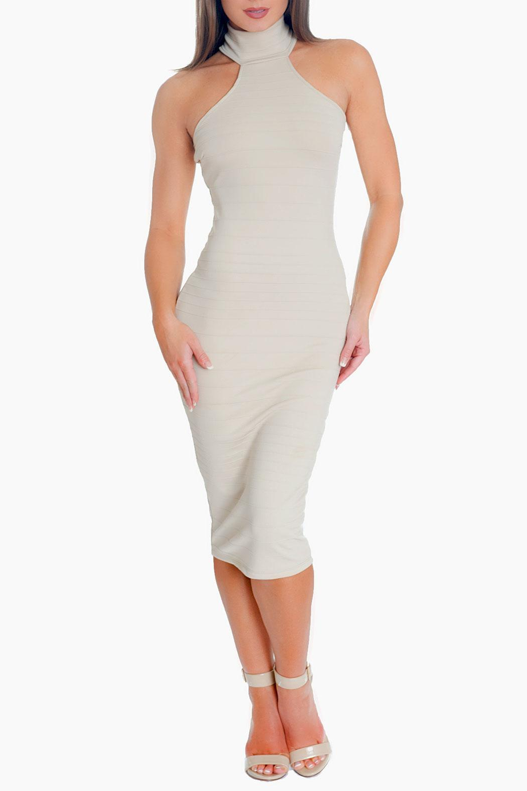 Chynna Dolls Kelly Midi Dress - Front Cropped Image