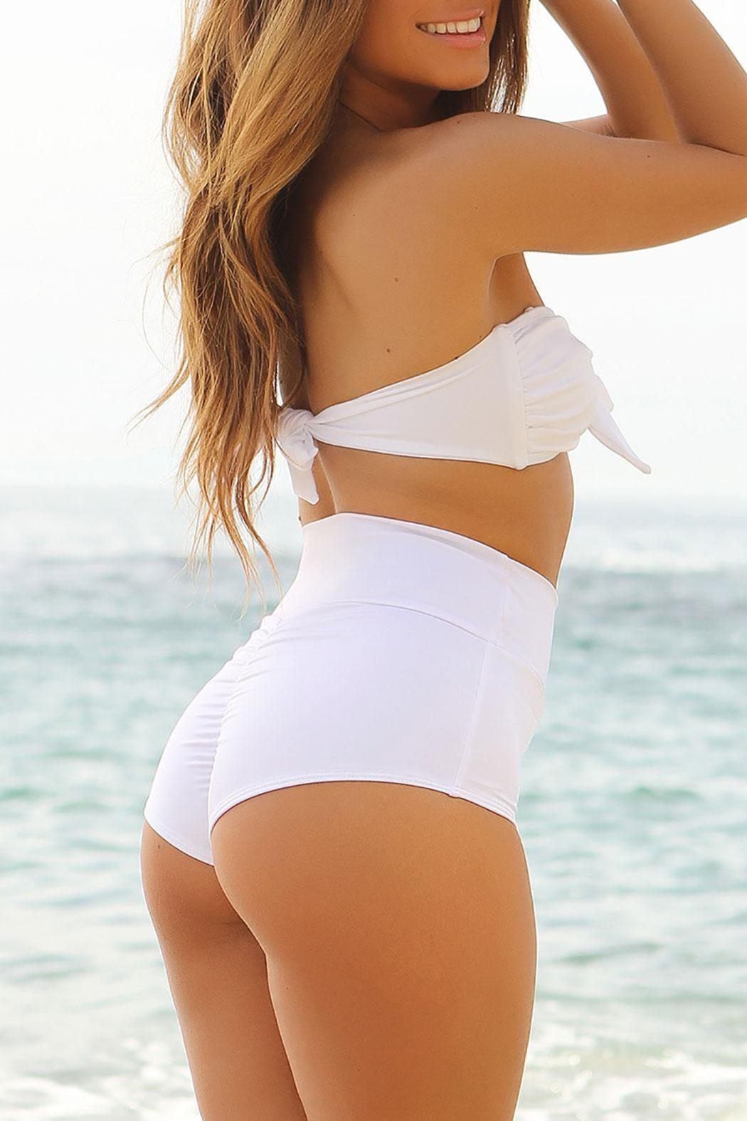 Chynna Dolls Malibu Highwaisted Bottom - Front Full Image