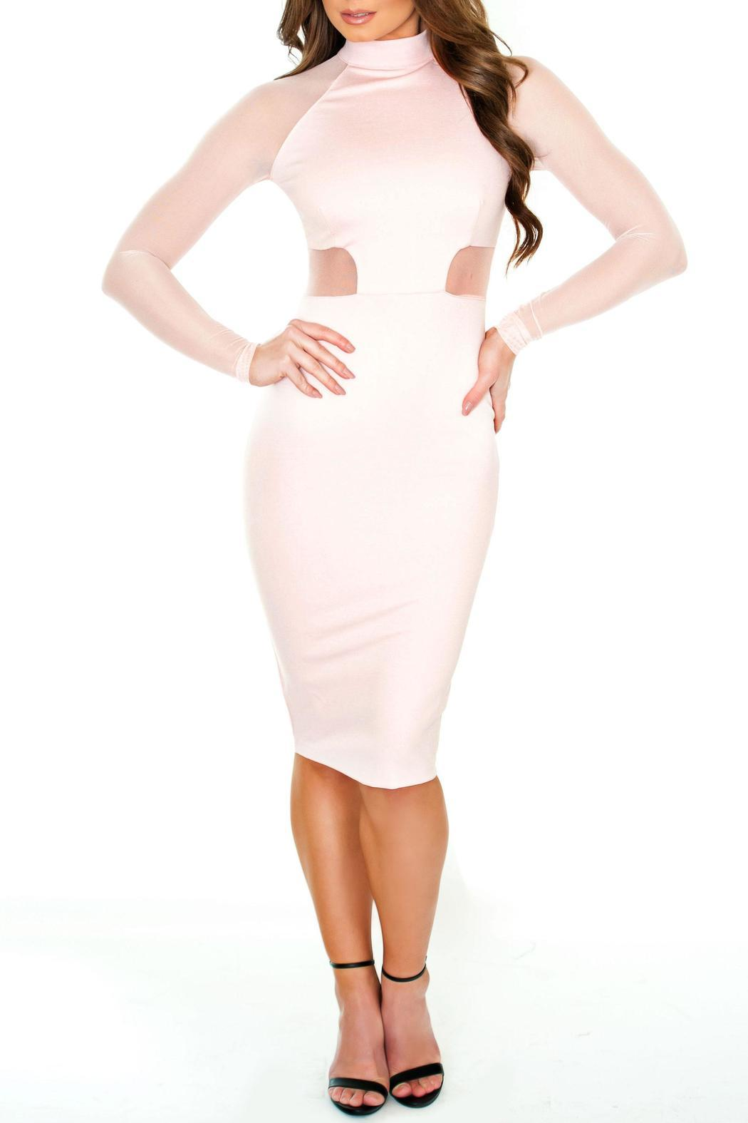 Chynna Dolls Olivia Bodycon Midi - Front Cropped Image