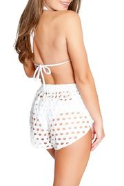 Chynna Dolls Remy High Waisted Shorts - Front full body