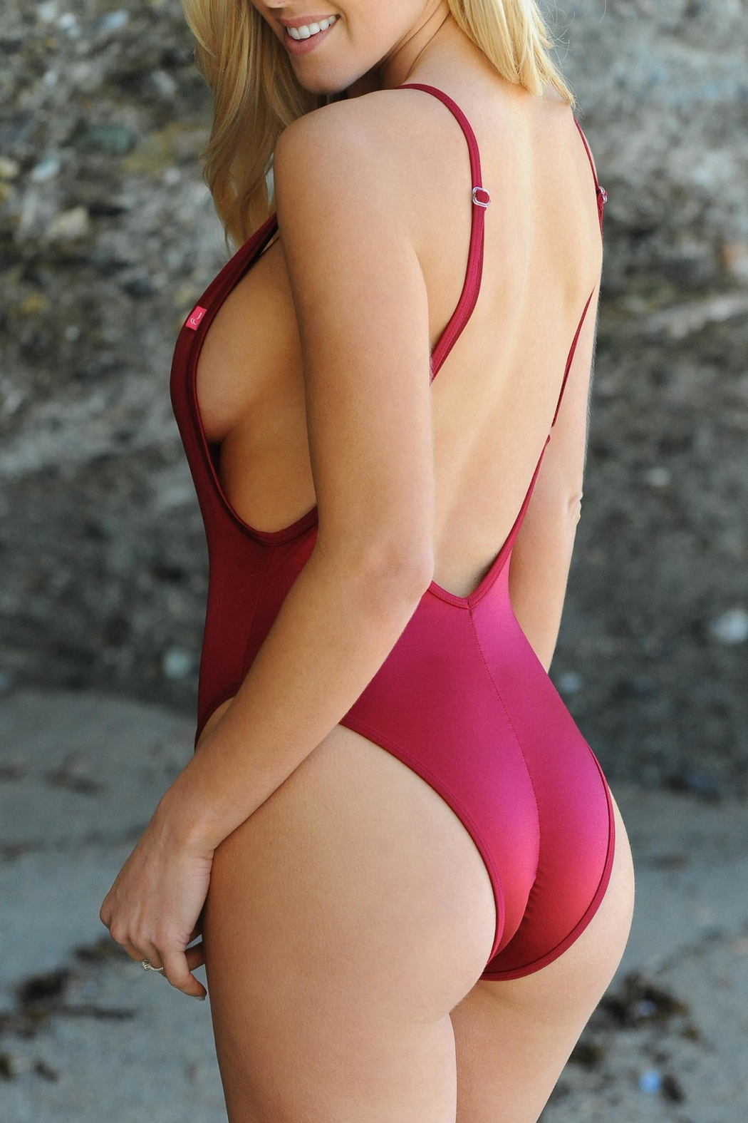 Chynna Dolls Red One Piece - Front Full Image
