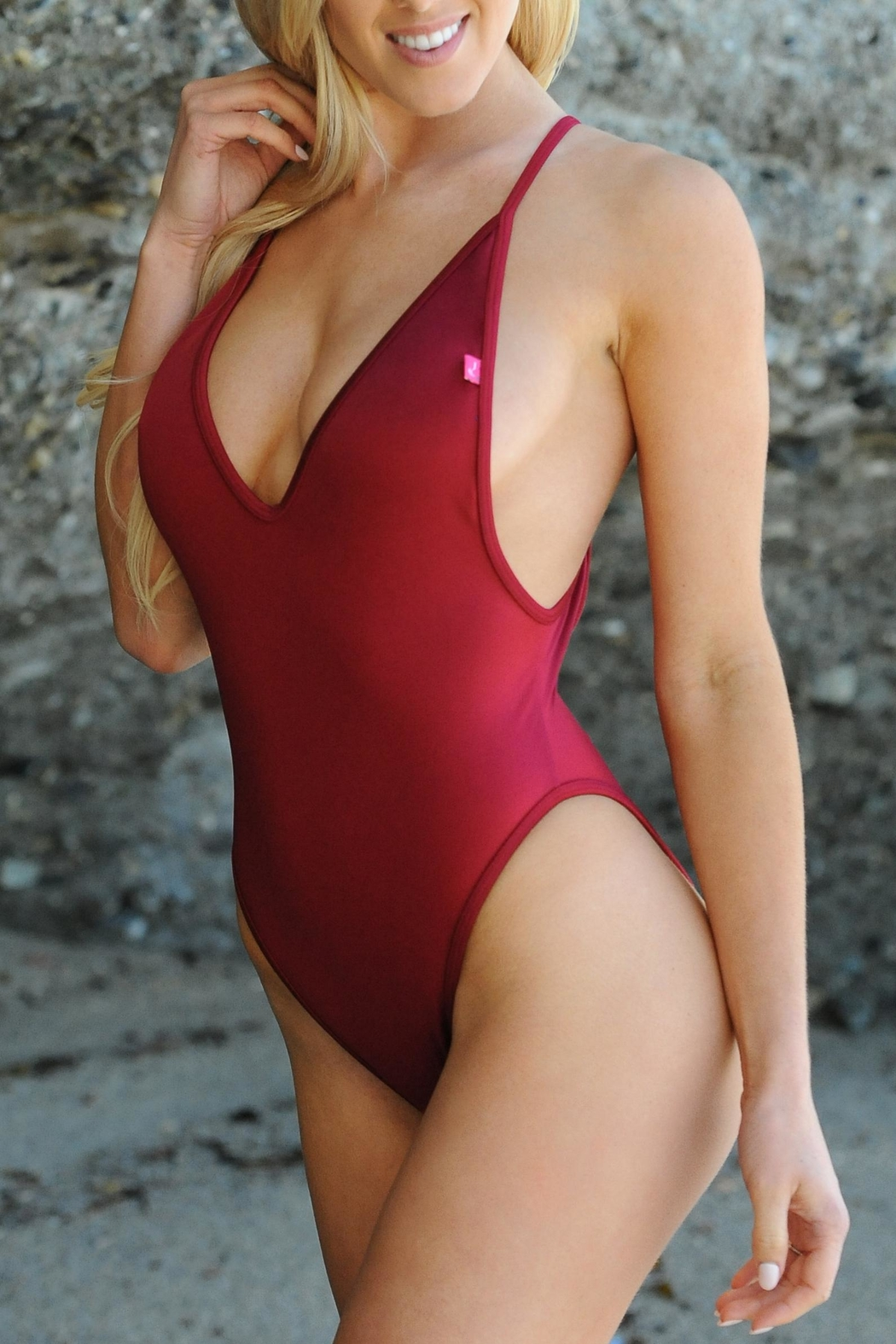 Chynna Dolls Red One Piece - Main Image