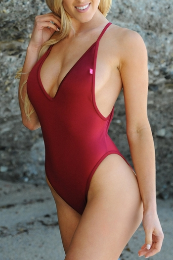 Chynna Dolls Red One Piece From California Shoptiques