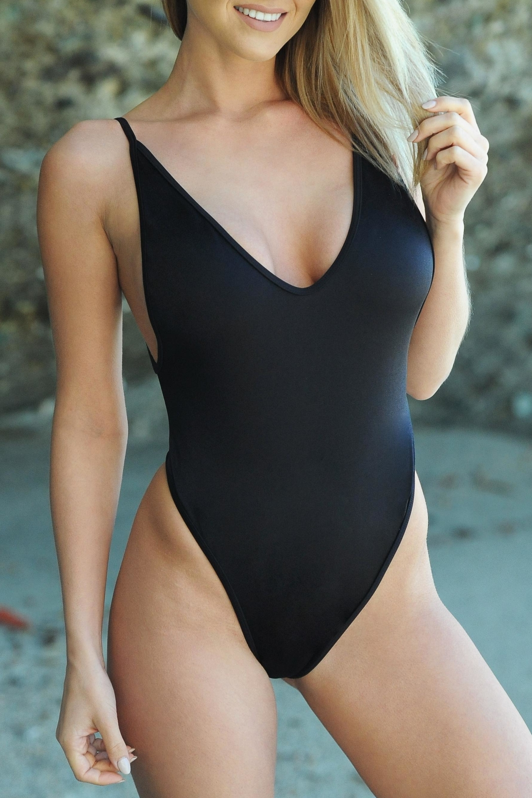 Chynna Dolls St.Martin Swimsuit - Front Cropped Image