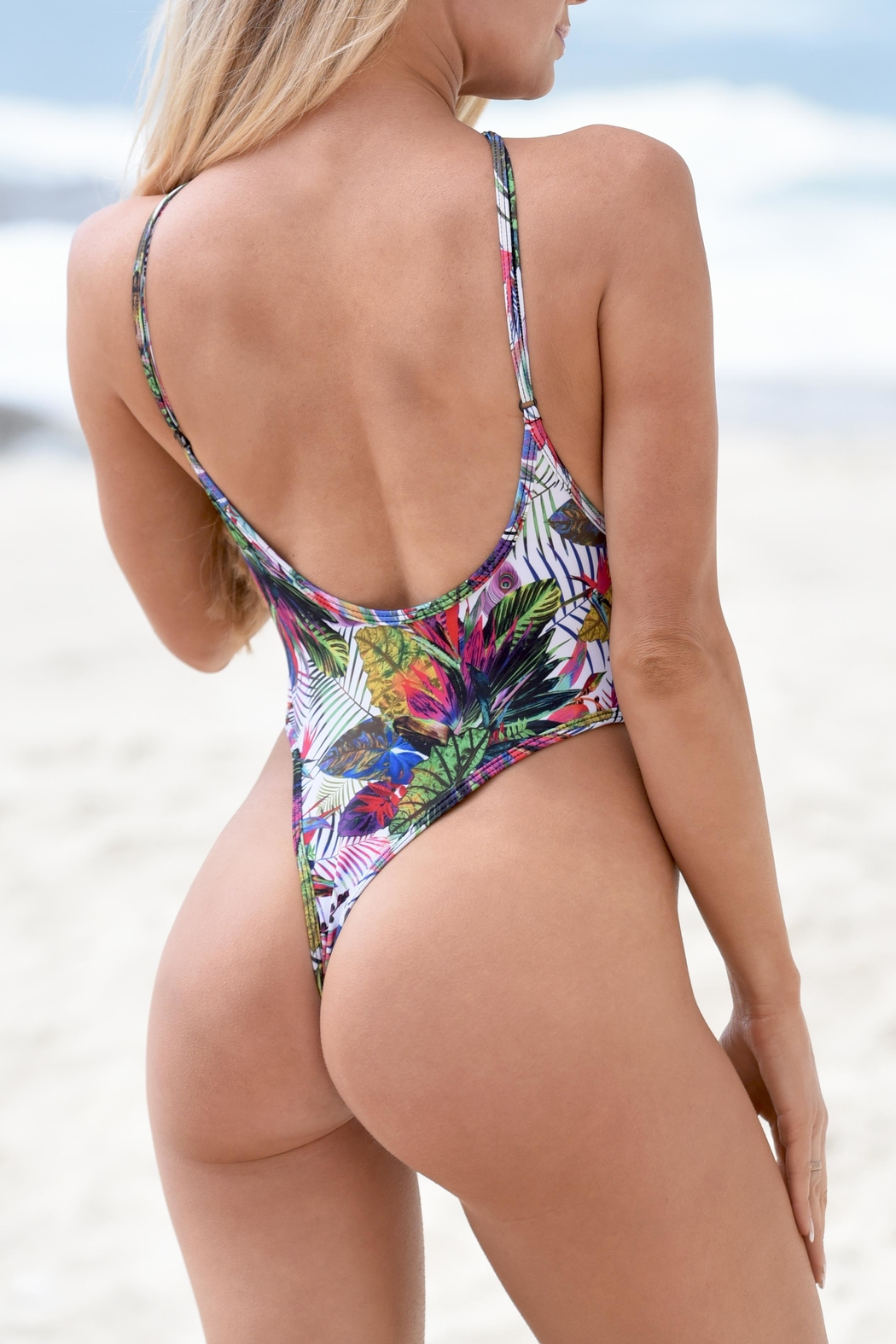 Chynna Dolls One Piece Swimsuit - Front Cropped Image