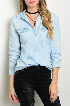 CI SONO Chambray Button Up - Product List Image