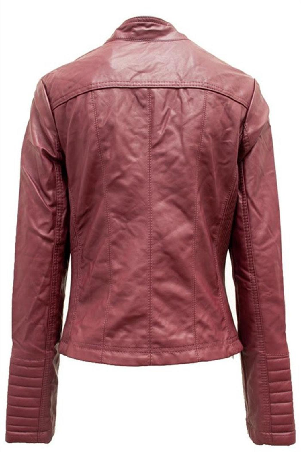 Leather jacket vancouver