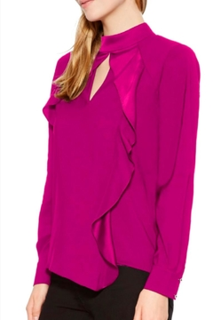 Parker Cianni Ruffle Blouse - Alternate List Image