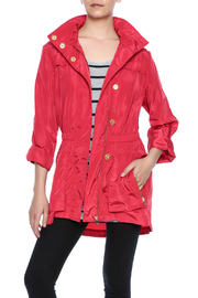 Ciao Milano Red Hooded Jacket - Product Mini Image