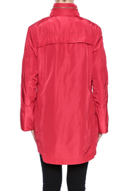 Ciao Milano Red Hooded Jacket - Back cropped