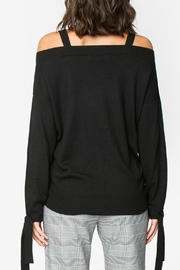 Sugar Lips Ciara Off-The-Shoulder Sweater - Front full body