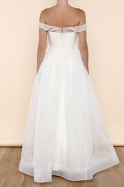 Cicada Ava Gown - Back cropped